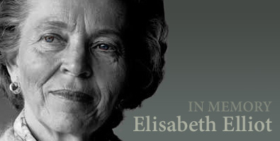 In Memory of Elisabeth Elliot