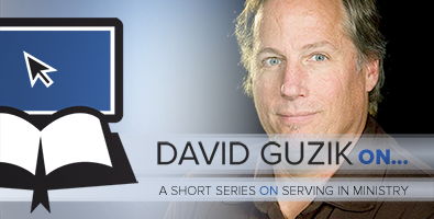 David Guzik on Serving in Ministry