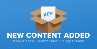 New Content Added from Richard Bennett and Shelley Cramm